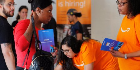 'Amazon is adding 30,000 jobs at its corporate offices and warehouses, and it's holding hiring events in 6 cities to help fill the roles