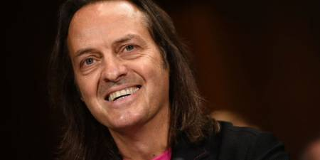 'Legere Stepping Down as T-Mobile CEO