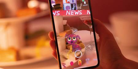'Augmented reality: the artists and museums pushing the limits of technology through Instagram