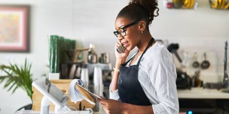 'When will aid arrive for small businesses?